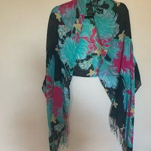 EUC Lilly Pulitzer looking scarf